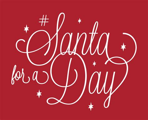 Sweepstakes A Day - how would you like to be santa for a day