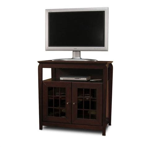32 Inch Tv Cabinet by Walnut 32 Quot Wood Lcd Plasma Tv Stand Bay3232