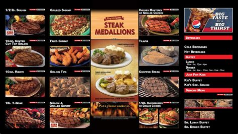steak house buffet ponderosa steak house steakhouses 3581 elm rd warren