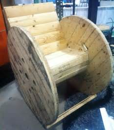 wooden spool rocking chair no spooling around trashy wench the of creative reuse