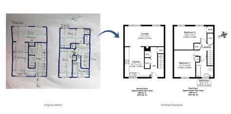 Floor plans   Convert your sketch into a JPG, PDF or