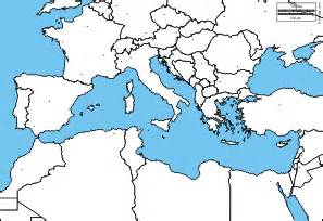 Blank Map Of The Mediterranean Region by Mediterranean Sea Free Map Free Blank Map Free Outline