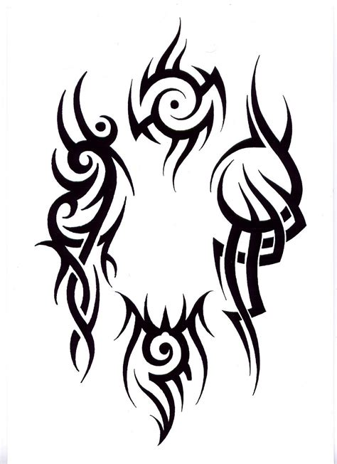 tribal tattoo drawings tribal tattoos designs ideas pictures