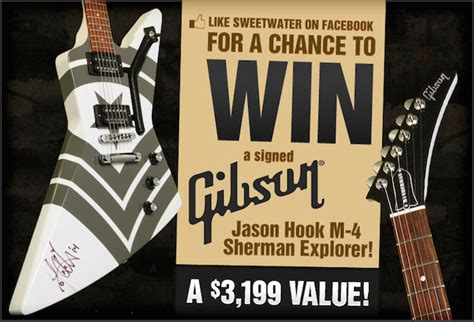 Gibson Giveaway 2014 - gibson guitar contest