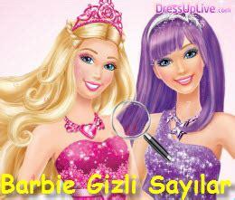kz oyunlar barbie oyunu oyna barbie gizli sayılar oyna