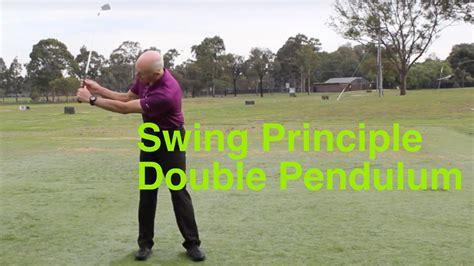 double pendulum golf swing golf swing like double pendulum youtube
