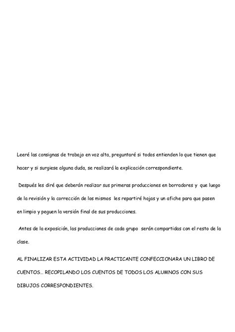 Sle Letter Of Agreement For Payment Of Lot proyecto did 193 ctico quot el cuento estructura quot