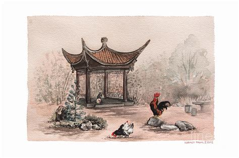 pagoda chickens by nancy pahl