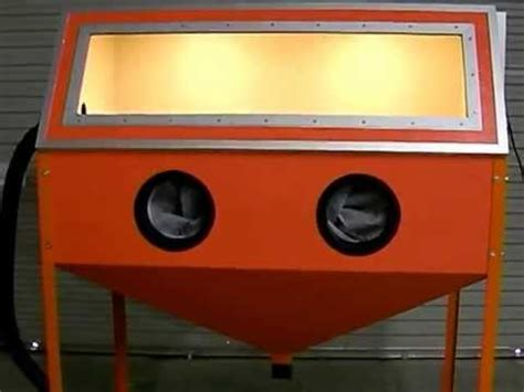 How To Make A Blast Cabinet by Homebuilt Blast Cabinet