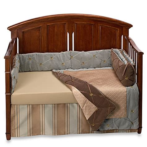 bananafish bedding bananafish 174 logan 4 piece crib bedding set bed bath beyond