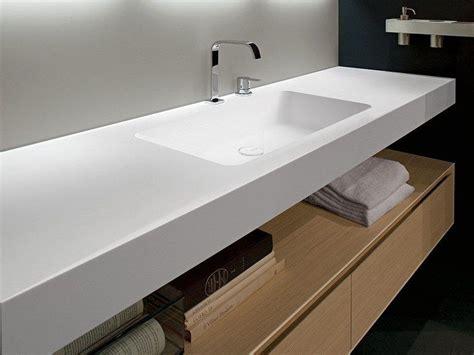 lavabi corian encimera de lavabo de corian 174 arco by antonio lupi design