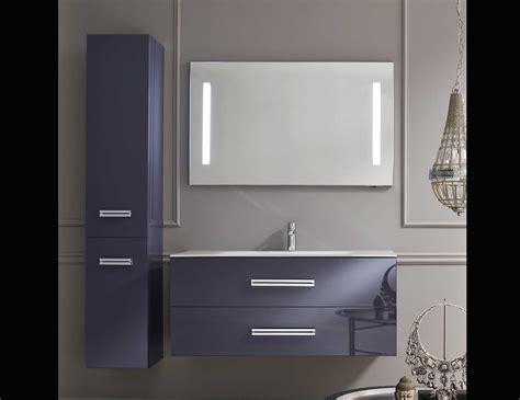 lacquer bathroom vanity bon ton bt8 contemporary italian bathroom vanity in purple