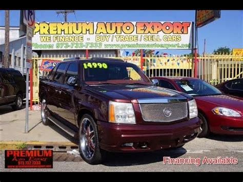 Ready Jl O1 Pinka 2002 cadillac escalade ext custom