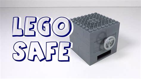 lego safe tutorial easy how to make a lego safe with key card lego safe tutorial