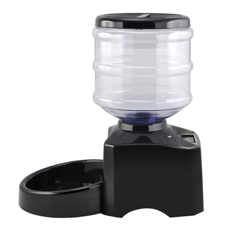 Pet Feeder Manual 5l automatic pet feeder for cat puppy auto dispenser bowl s9 j8j0 ebay