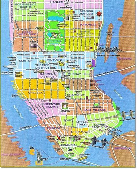 district map of nyc top new york city hotels vacation ideas
