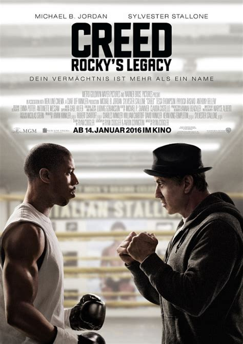 Creed 2015 Film Filmplakat Creed Rocky S Legacy 2015 Filmposter Archiv