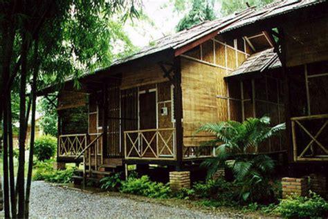 design interior rumah bambu mengolah material bambu sebelum digunakan pt