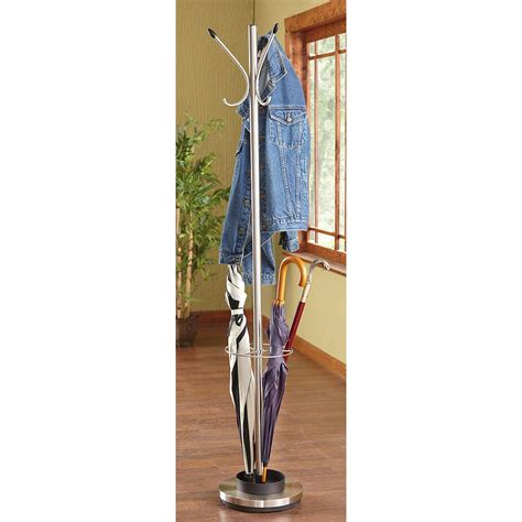 Umbrella Coat Rack by Adesso Coat Rack And Umbrella Stand 225758 Housekeeping Storage At Sportsman S Guide