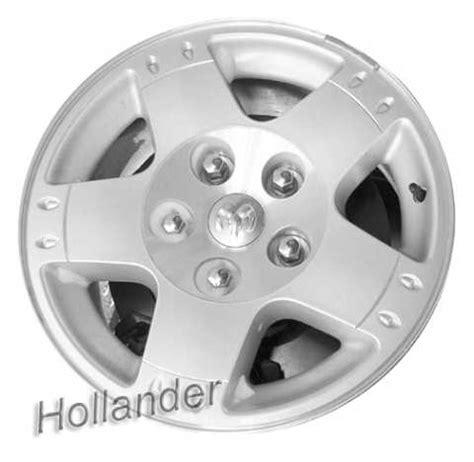 2005 dodge durango wheel bolt pattern 2005 dodge durango wheels machined silver 17 quot rims 2234