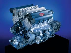 Bugatti Engine W16 Bugatti Eb 16 4 Veyron Car News