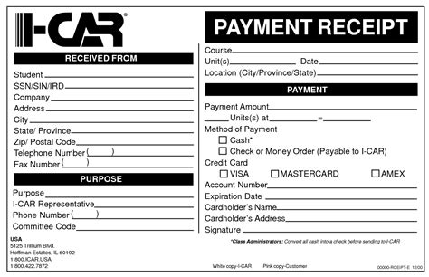 receipt of payment letter 7 examples in word pdf