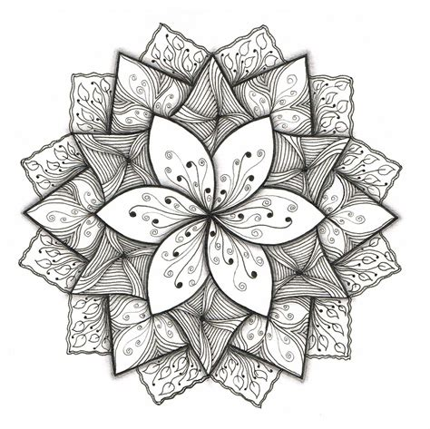 easy designs flower designs to draw on paper cool flower patterns to