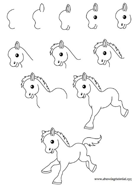 Drawing Step By Step Easy Animals by Step By Step Animal Drawings Easy Drawings Stepstep