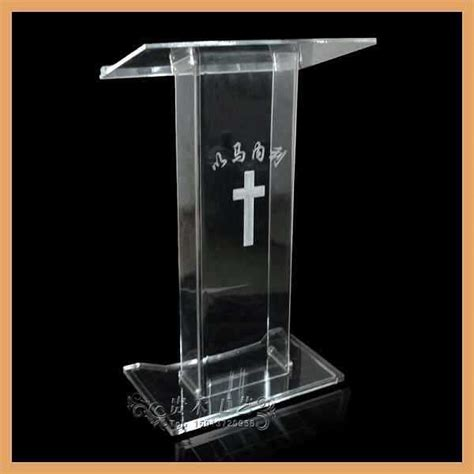 Superb Acrylic Podium For Church #2: GH-S031-clear-acrylic-church-pulpit-glass-pulpit-price-pulpit-podium-.jpg