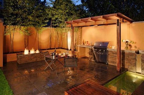 Cuisine Ete Exterieure Bois by Design Exterieur Cuisine D 233 T 233 Ext 233 Rieure Ouverte Foyer