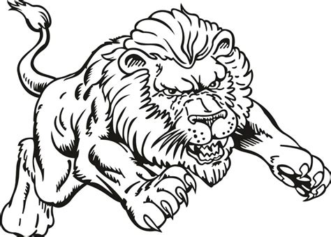 nfl lions coloring pages coloring pictures of lions lions coloring pages lion color