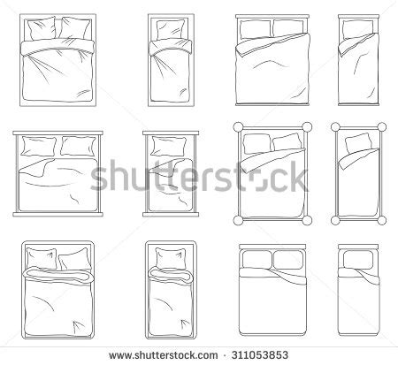 furniture icons for floor plans plan icon stock photos images pictures shutterstock