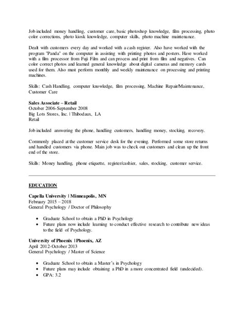 Handling Resume by Handling Money Resume Resume Ideas