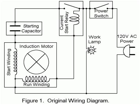 single phase asynchronous motor wiring diagram wiring