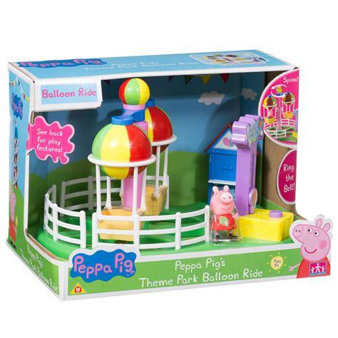 theme park peppa pig peppa pig theme park balloon ride animal toys play sets