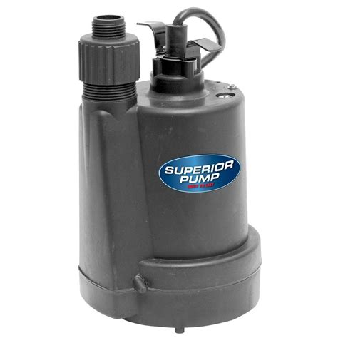Pompa Submersible 5 Hp Superior 1 5 Hp Submersible Thermoplastic Utility