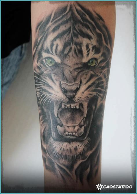imagenes de tatuajes de tigres tatuajes tigres tatuaje realista tigre muslo por fredy