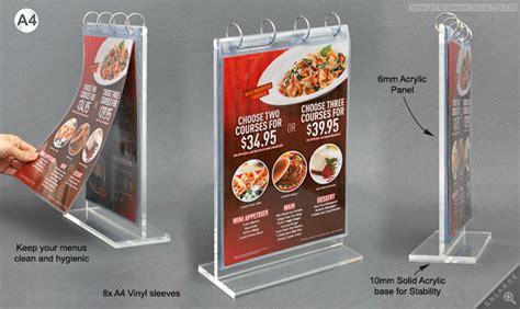 Acrylic Menu wholesale acrylic flip menu stand menu holder buy acrylic menu holder menu stand menu holder