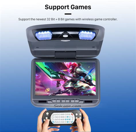 dvd player games format roof mount dvd player 9 inch with fm usb sd games