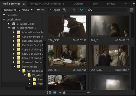 adobe premiere pro dv or hdv importing media files into premiere pro