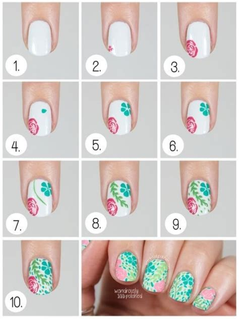tutorial fiori nail nail tutorial fiori step by step tutorial nailart