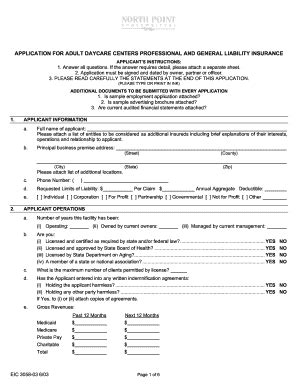 child care employment application template daycare applications fill printable fillable