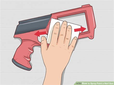 spray paint nerf how to spray paint a nerf gun 12 steps with pictures
