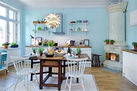 light blue kitchen walls 20 scandinavian kitchen design ideas