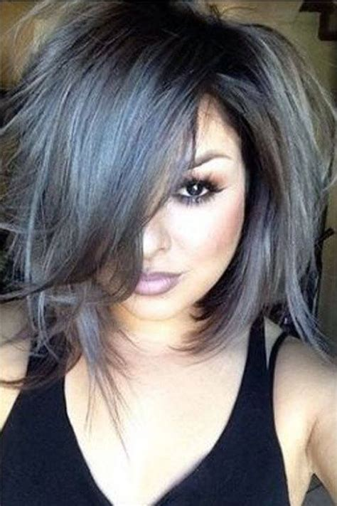 color and highlights best 25 silver highlights ideas on grey hair