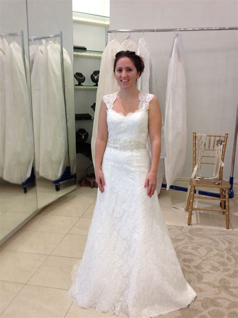 Wedding Hair For Keyhole Back Dress by Blanca Lace A Line Wedding Dress With Keyhole Back