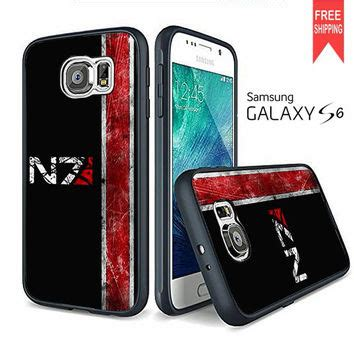 N7 Mass Effect Casing Samsung Iphone 7 6s Plus 5s 5c 4s Cases 1 n7 mass effect samsung galaxy s6 edge from iphone shop free