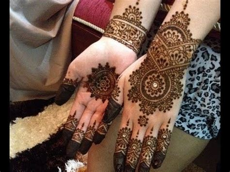 easy  cute henna design  beginners step  step description   design youtube