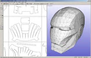 Iron Helmet Papercraft Pdf - ultimate papercraft 3d