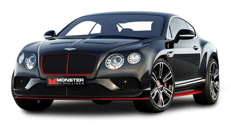 Black Bentley Continental Gt V8 Car Png Image Pngpix